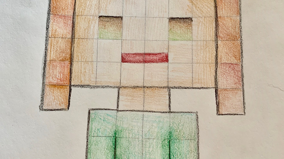 Minecraft Self Portraits, June 14-17, ages 8-14