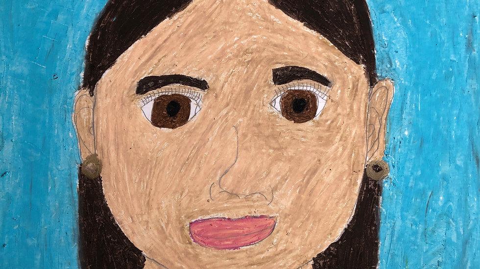 Self Portraits, June 28th-July 1st, Ages 5-14