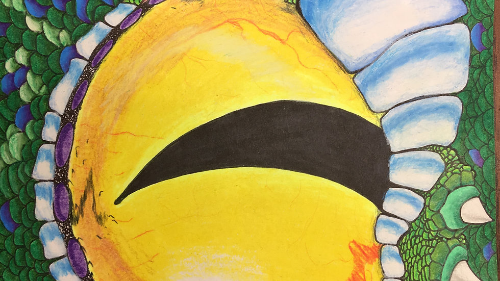 How to Draw Your Dragon, July 12-15, ages 5-11