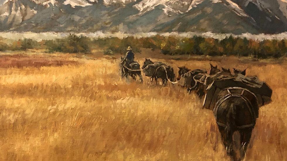 Adult Oil Painting Classes - Mondays 6-8 pm