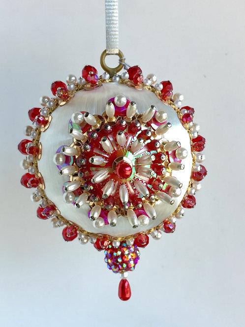 Curio, Baroness, Loretta, Handmade, Ornament, Custom, Crystal, Beaded