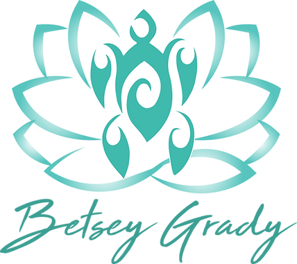 Betsey Grady, Rosie Blu, Akashic Readings, Turtle, Lotus, Logo, Meditation Instructor