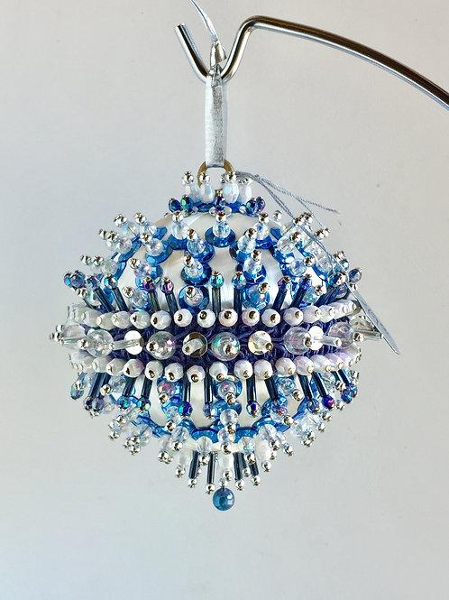 Curio, Princess, Crystal, Handmade, Ornament, Custom, Crystal, Beaded