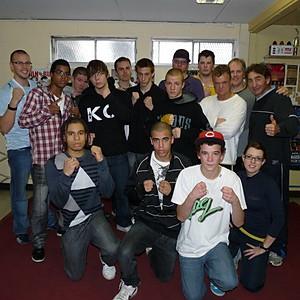 Camp d'entraînement 6-7 novembre 2010 à Québec.