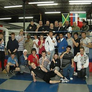 Camp d'entraînement au Club de boxe Frères Grant 2010