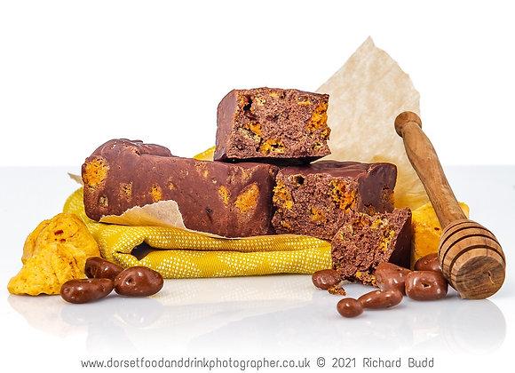Chocolate Honeycomb Fudge
