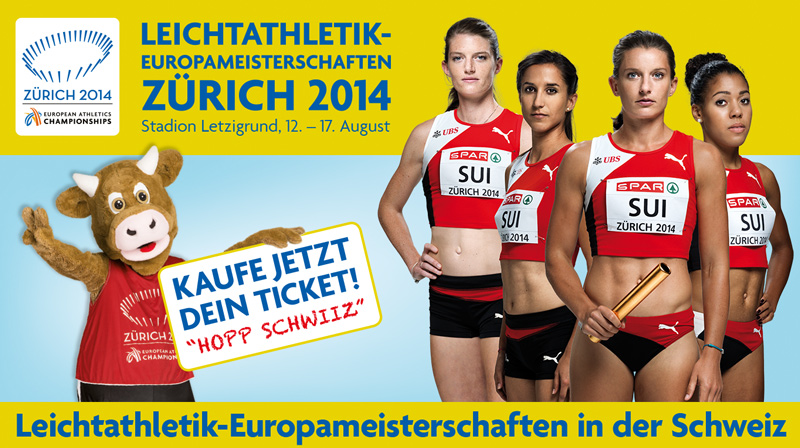 EUROPEAN ATHLETICS<br>CHAMPIONSHIPS