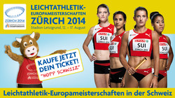 EUROPEAN ATHLETICS<br>CHAMPIONSHIPS
