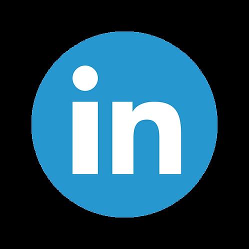 Anúncio no Linkedin