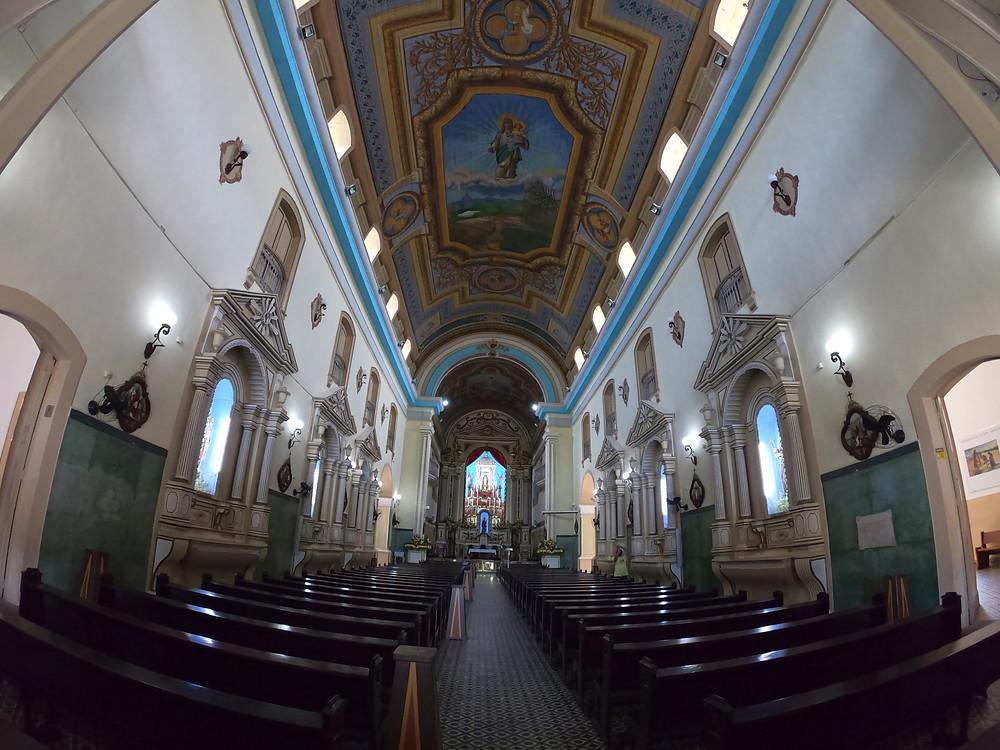 Interior da Basílica do Senhor Bom Jesus de Iguape e Nossa Senhora das Neves