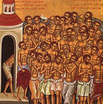 Quarenta mártires de Sebaste - 10 Mar