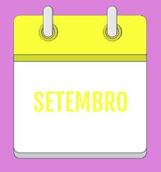 Calendário de Atividades - Setembro 2020