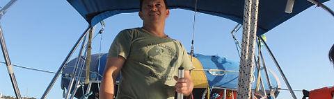 Imagem Comandante Gian Jaque, Prof. Vela Oceânica