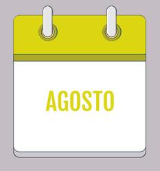Calendário de Atividades - Agosto 2020