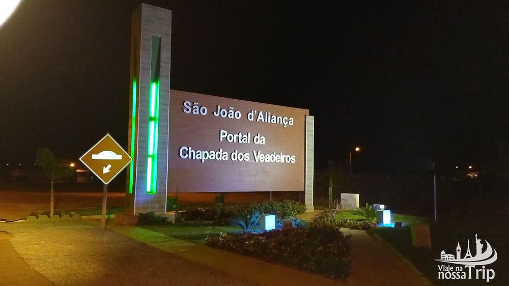 Portal da Chapada dos Veadeiros em São João d'Aliança
