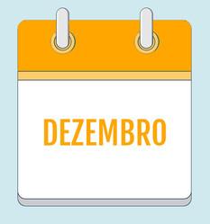 Calendário de Atividades - Dezembro 2020