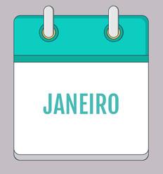 Calendário de Atividades - Janeiro 2020