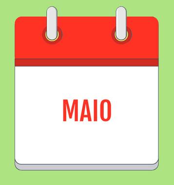 Calendário de Atividades - Maio 2020