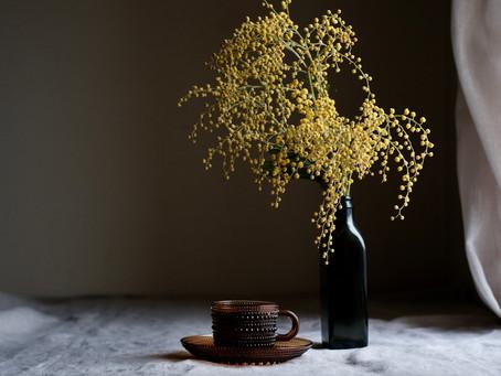 シンプルな花と暮らし vol.47 春は黄色から