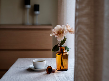 シンプルな花暮らし vol.30 秋色の薔薇