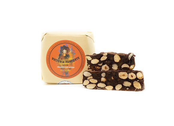 Panforte Volta with chocolate and orange, 240 g, 8 servings