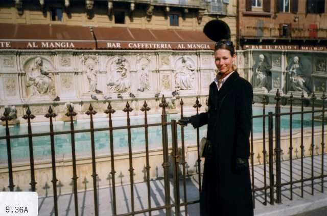 Anne at Fonte Gaia