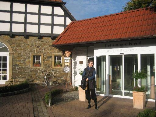 The Idingshof Hotel in Bramsche -- Diana's German hide-out