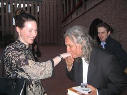 Anne and Massimo Lippi