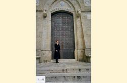 Anne at the Monte dei Paschi di Siena