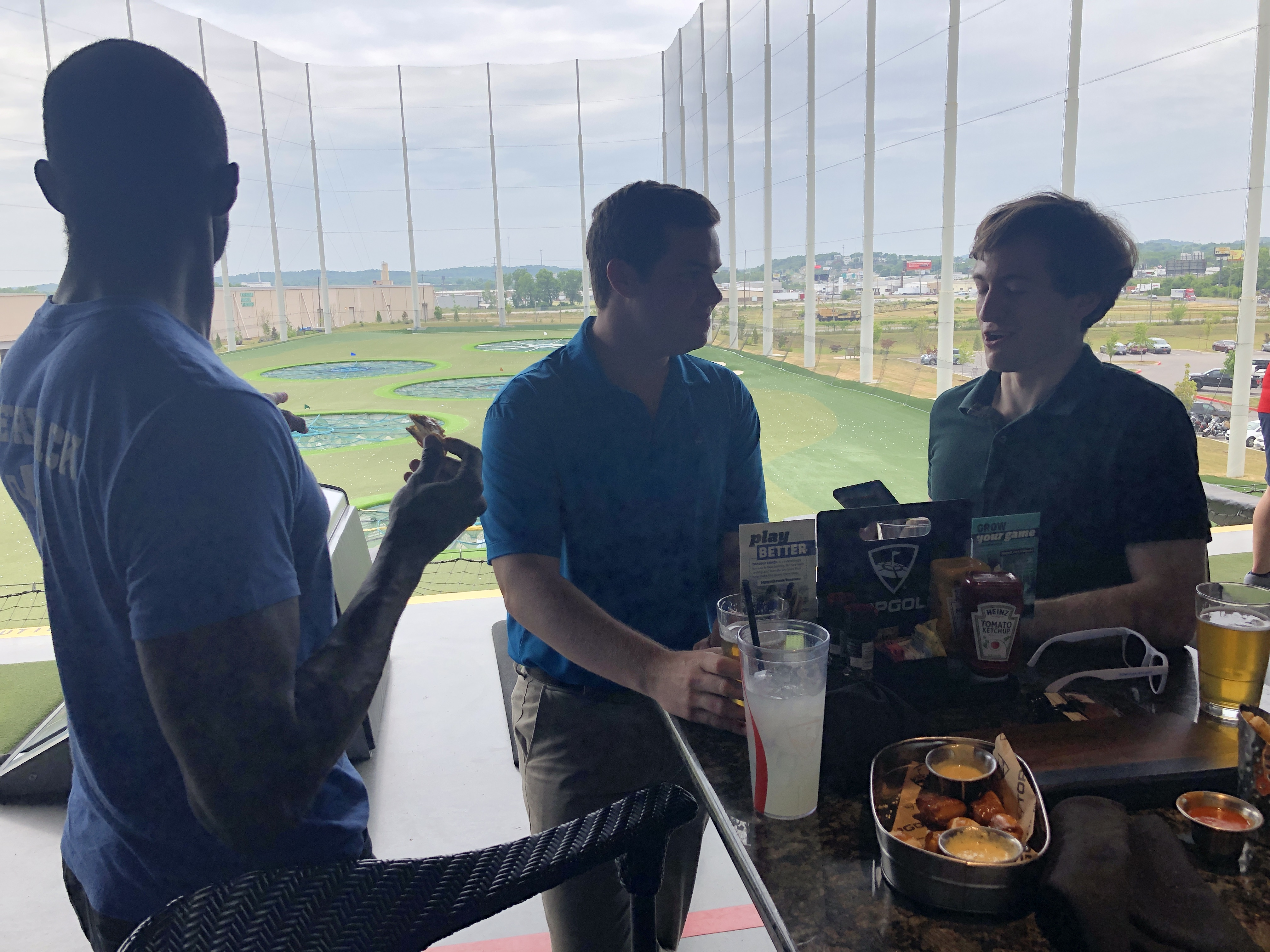 Topgolf for Sean's Farewell