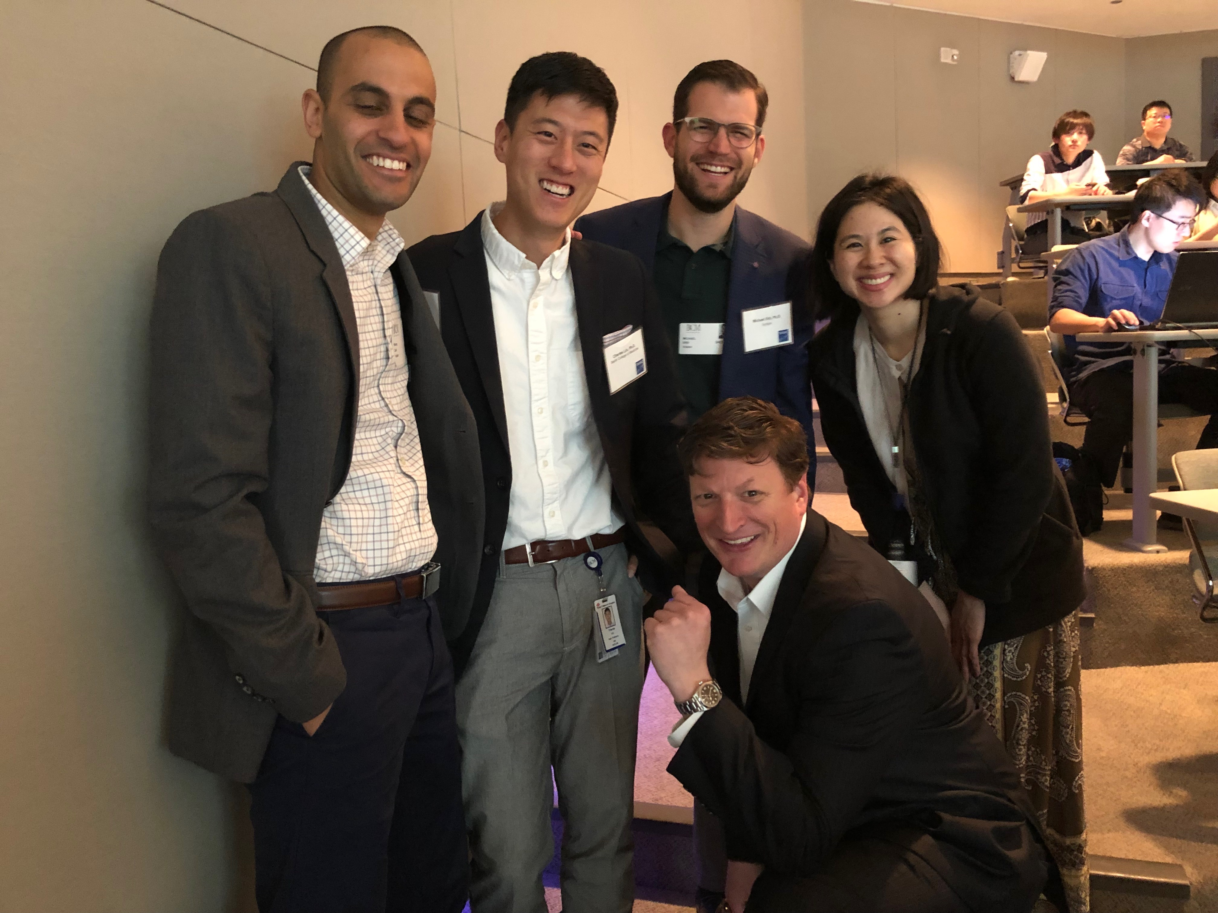 The Bradner Lab Reunion at Baylor THINC Symposium