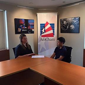 HT AmCham Filming