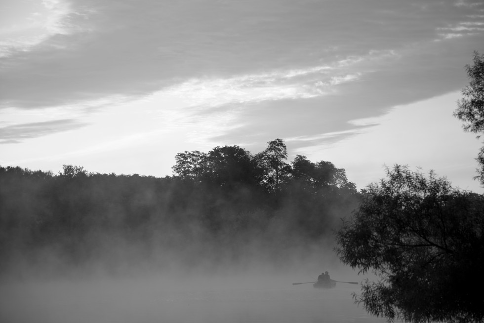 Mornings on Lakeside Pond