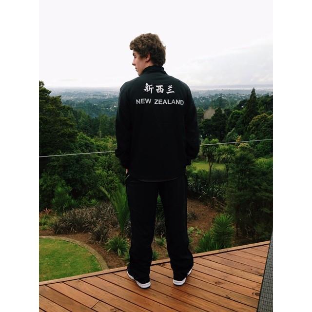 Michael Mincham Youth Olympics uniform.jpg