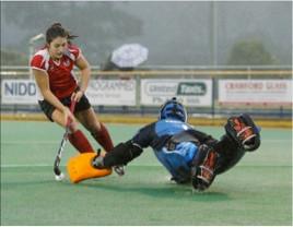 Athlete Report: DANIELLE SUTHERLAND - HOCKEY Dec 2013