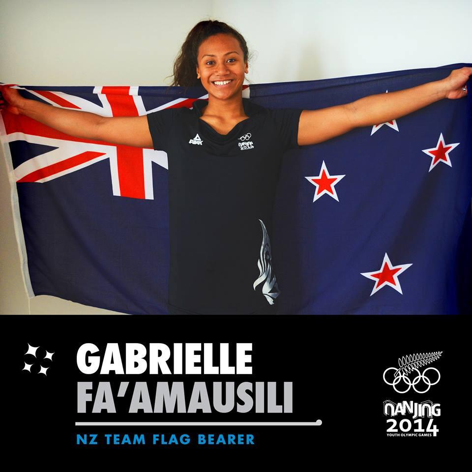 Gabrielle Fa'amausili Sports Scholarship recipient