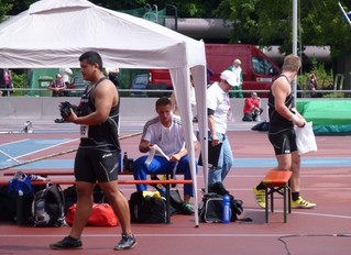 Athlete Report: BENEDICT CHONG WONG - SHOT PUT & DISCUS Dec 2013