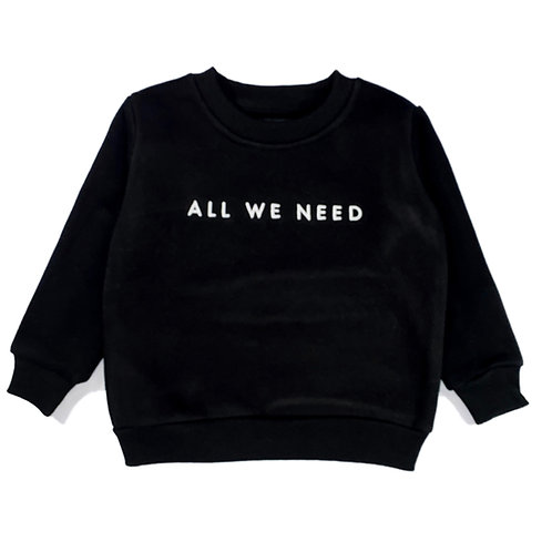 AWN Kids Black Sweater