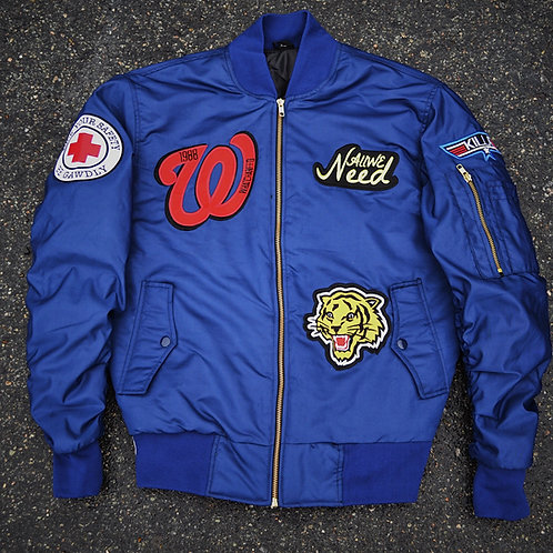 WhatchaNeed Flight Jacket (Navy)