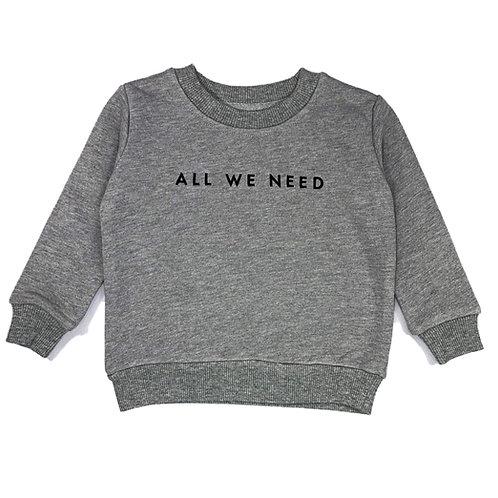 AWN Kids Grey Sweater