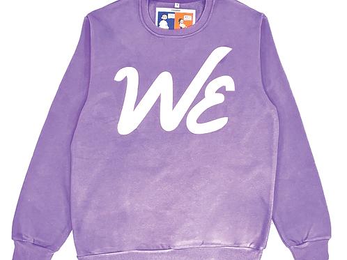 """WE"" Crewneck (Lavender)"