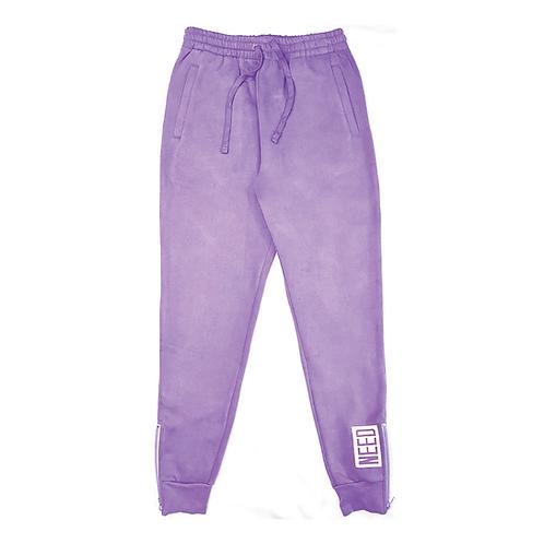 """NEED"" Sweatpants (Lavender)"