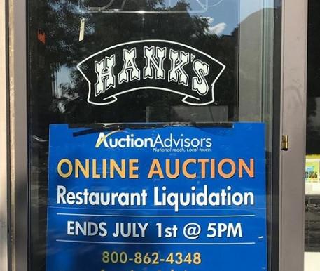 HANKS SALOON HAS LEFT THE BUILDING… AGAIN…