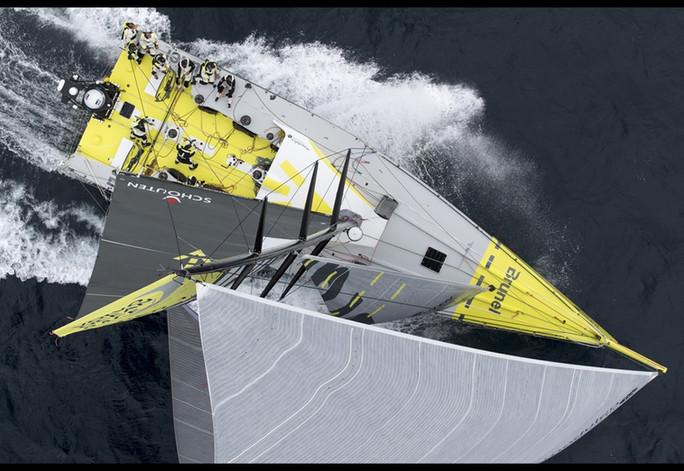 VOLVO OCEAN RACE - TRAINING VOR LANZAROTE
