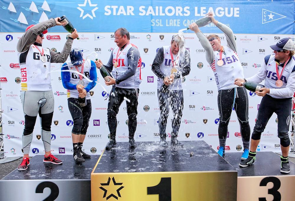 Kleen/Stanjek gewinnen Silbermedaille vor und hinter USA