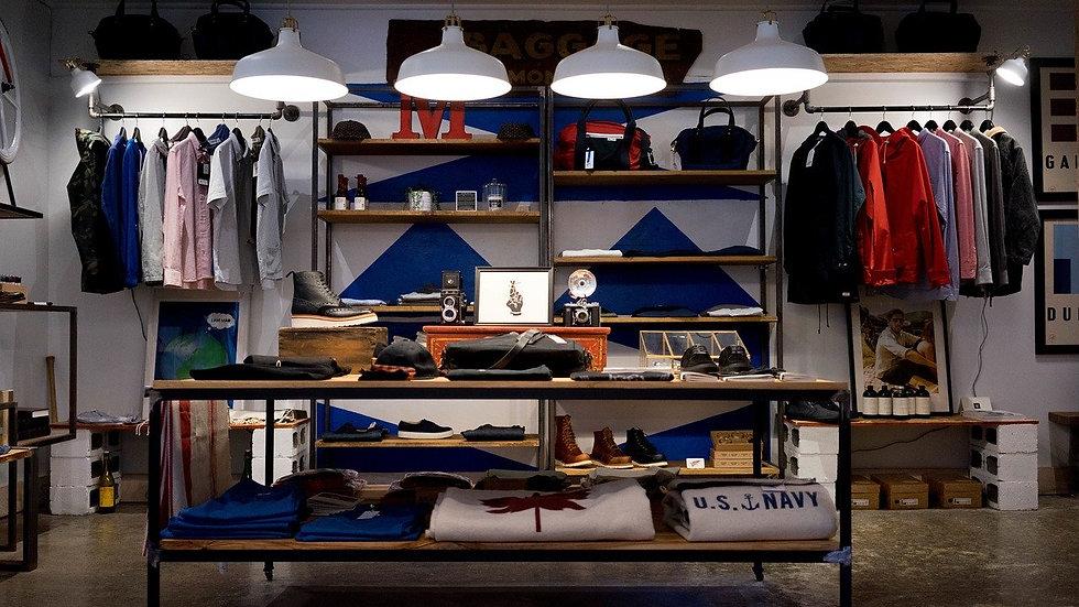 Gerência de loja - moda ou vestuário