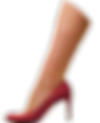 Leg in pink high heel shoe, click to watch Fanny Aboulker video Close your legs