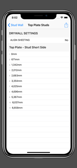 Stud Wall - Top Plate Studs