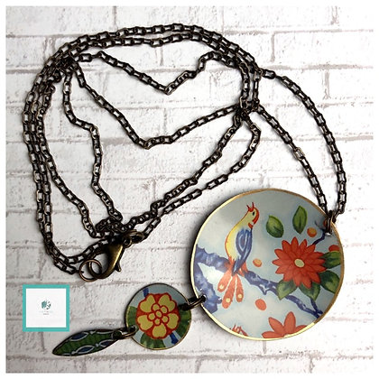 "VIN-TIN-AGE Songbird 31"" Necklace"