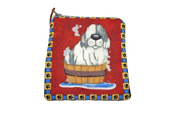 Shaggy Dog Change Purse